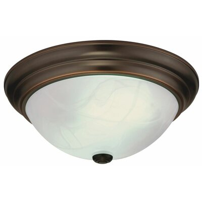 Lithonia Lighting Sheffield Large 1 Light Flush Mount