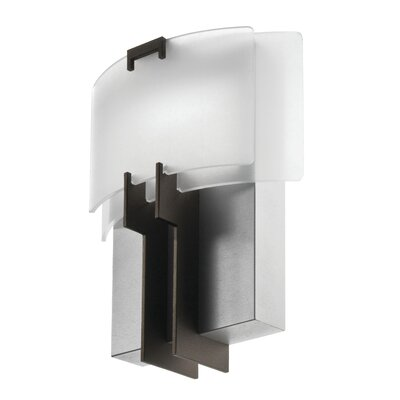 Wayfair Indoor Wall Sconces : Lithonia Decorative Indoor Contemporary Torch Sconce Diffuser Wayfair