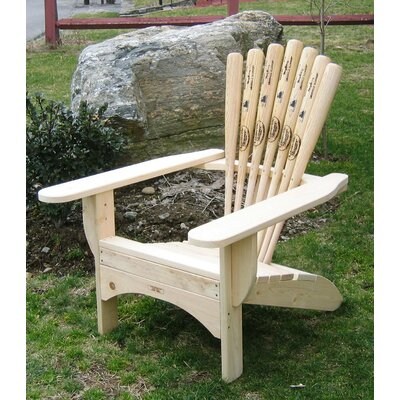 Base Ball Bat Adirondack Chair