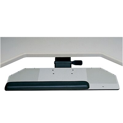 Humanscale Diagonal Big Keyboard Tray and Mouse Platform with Single Adjustable Arm