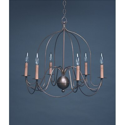 Northeast Lantern Chandelier 6 Light Candelabra Sockets Bird Cage Hanging Chandelier