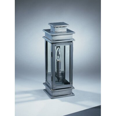 Northeast Lantern Empire 1 Candelabra Socket Antique Mirror Wall Lantern