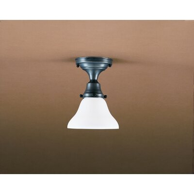 "Northeast Lantern Pendant 8"" Medium Base Socket Semi Flush Mount"