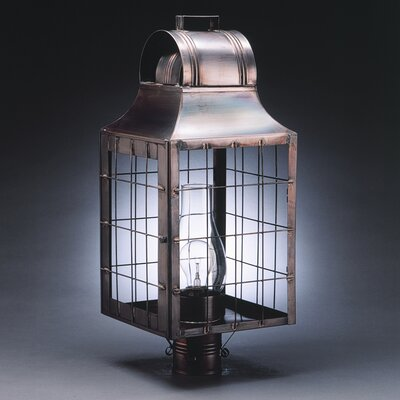Northeast Lantern Livery 3 Light Post Lantern