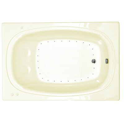 "Spa Escapes St. Lucia 78"" x 48"" Corner Air Tub"