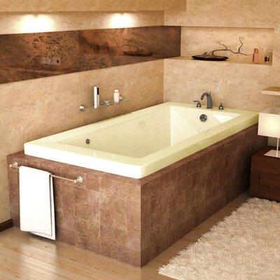 "Spa Escapes Guadeloupe 60"" x 23"" Rectangular Air Tub"