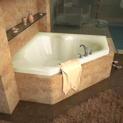 "Spa Escapes Tobago 60"" x 60"" Corner Air Tub"