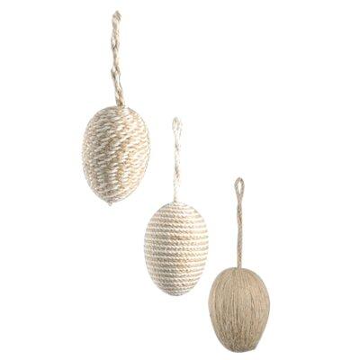 Barreveld International Egg 3 Piece Ornament Set