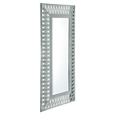 "Barreveld International Lace 35.5"" H x 18"" W Wall Mirror"