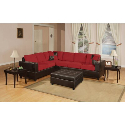 Poundex Bobkona Sectional