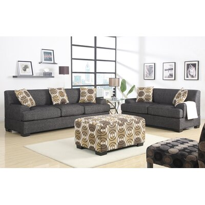 Poundex Montréal Sofa and Loveseat