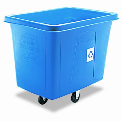 "Rubbermaid Commercial Products 37"" Recycling Cube Truck"