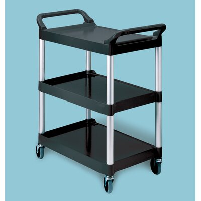 Rubbermaid Commercial Products Food Service & Utility Cart with Casters and Aluminum Uprights