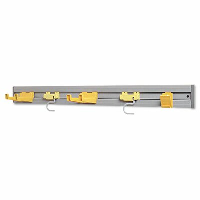 "Rubbermaid Commercial Products Closet Organizer/Tool Holder, 34"" Width"