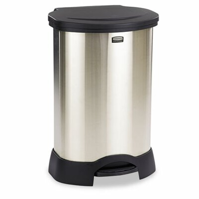Rubbermaid Commercial Products Step-On Container, 23 Gal
