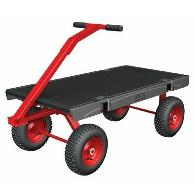 Rubbermaid Commercial Products Rubbermaid Commercial - 5Th Wheel Wagon Trucks 5Th Wheel Wagon Truck 24X48: 640-4478-Bla - 5th wheel wagon truck 24x48