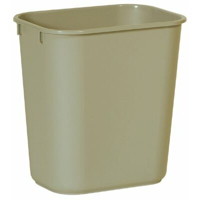 Rubbermaid Commercial Products Rubbermaid Commercial - Deskside Wastebaskets Large Rectangular Soft 41-1/4Qt Cap. Wastebasket: 640-2957-Bla - large rectangular soft 41-1/4qt cap. wastebasket