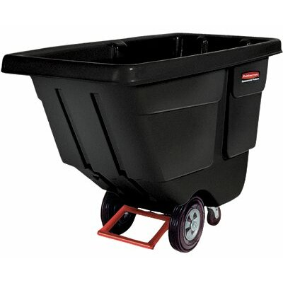 Rubbermaid Commercial Products Tilt Trucks - 1 cu yd heavy duty t