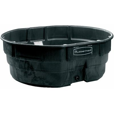Rubbermaid Commercial Products Stock Tanks - 50 gal stock tank blk