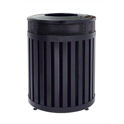 Rubbermaid Commercial Products Avenue 40 Gallon Large Round Open Top Receptacle
