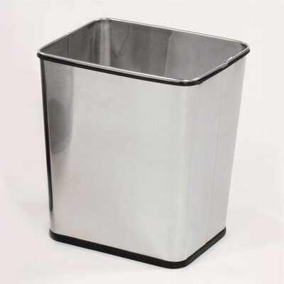Rubbermaid Commercial Products Stainless Steel Wastebasket - United Receptacle - WB29RSS