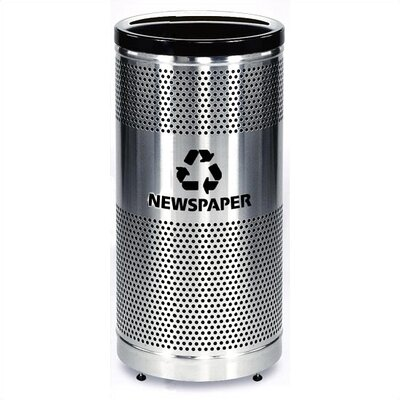 Rubbermaid Commercial Products Howard Classics Paper Recycling Receptacle