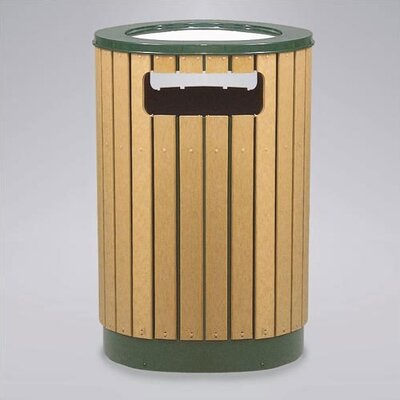 Rubbermaid Commercial Products Regent 50 Series 12 Gallon Round Sand Top Ash/Trash Receptacle