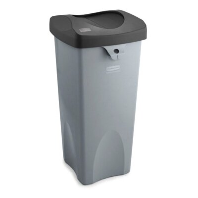 Rubbermaid Commercial Products 23-Gal. Untouchable Square Container