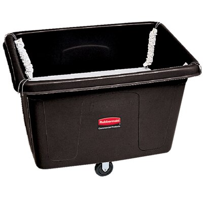 Rubbermaid Commercial Products Spring Platform Truck in Black