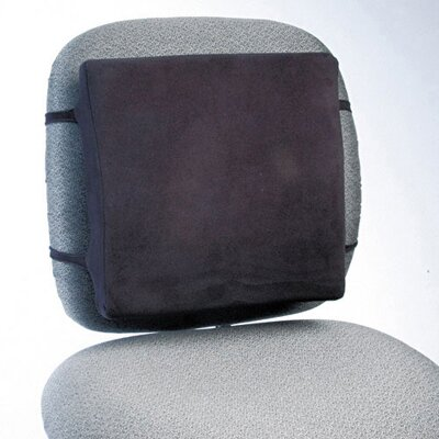 Rubbermaid Commercial Products Back Perch with Fleece Cover in Black
