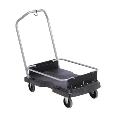 Rubbermaid Commercial Products Ice-Only Cart in Black