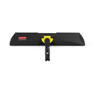 Rubbermaid Commercial Products Standard Quick Plastic Connect Frame in Black