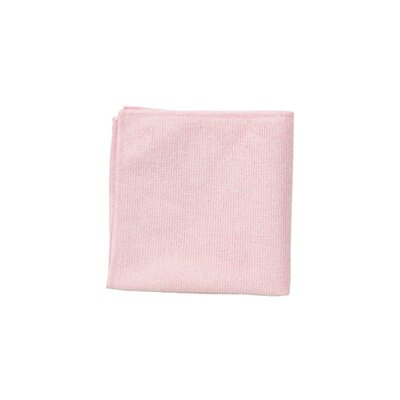 Rubbermaid Commercial Products Microfiber Cleaning Cloths in Red