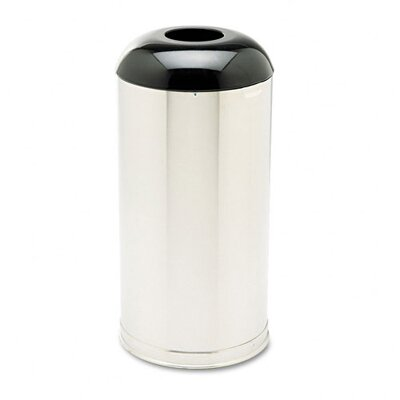 Rubbermaid Commercial Products European & Metallic Drop-In Dome Top Round Receptacle
