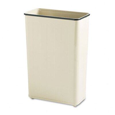 Rubbermaid Commercial Products 24-Gal. Rectangular Steel Wastebasket