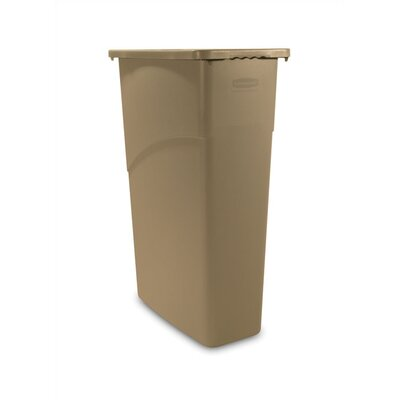 Rubbermaid Commercial Products 23 Gallon Slim Jim Waste Receptacle