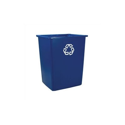 Rubbermaid Commercial Products Outdoor Glutton Curbside Recycling Bin