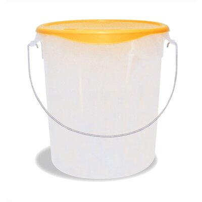 Rubbermaid Commercial Products Round Storage Container with Bail (22 U.S. qt.)