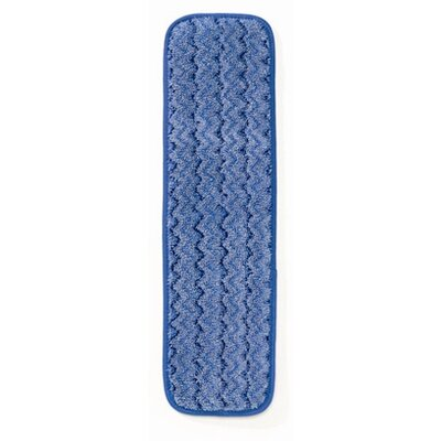 "Rubbermaid Commercial Products 18"" Microfiber Wet Mopping Pad in Green"