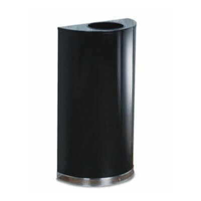 Rubbermaid Commercial Products European & Metallic Series Open Top Receptacle