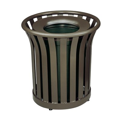 Rubbermaid Commercial Products Americana 24 Gal. Waste Receptacle