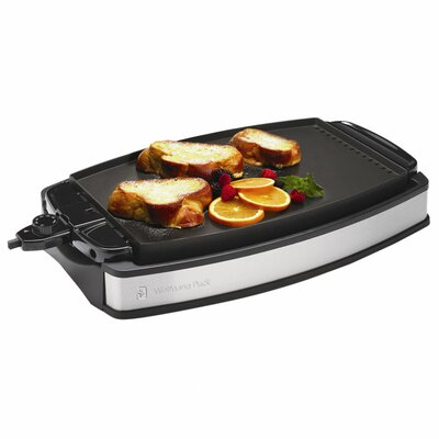 <strong>Wolfgang Puck®</strong> Indoor Electric Reversible Grill and Griddle