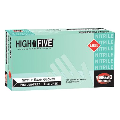Quest Products Inc High Five Nitrile Exam Gloves 200 Count Case