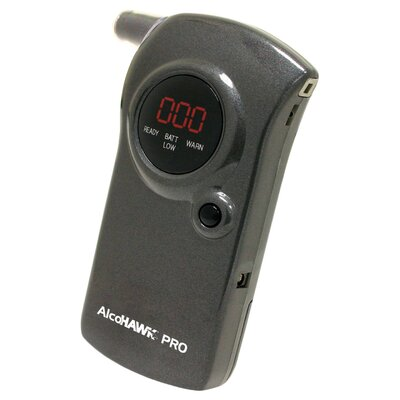 Quest Products Inc AlcoHAWK PRO Breathalyzer, Digital Breath Alcohol Tester