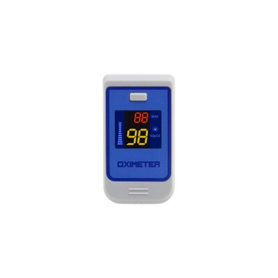 Quest Products Inc Fingertip Pulse Oximeter with Colored LCD