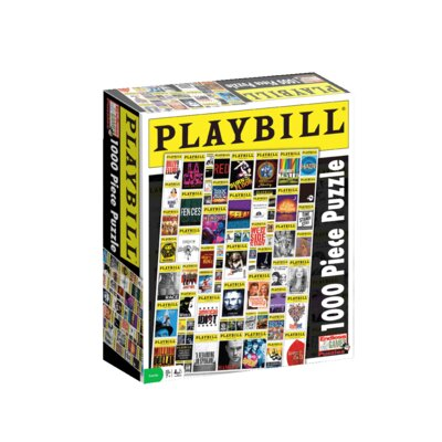 Endless Games Playbill Broadway Cover Puzzle
