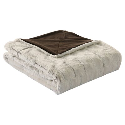 Helen Faux Fur Reversible Polyester Throw