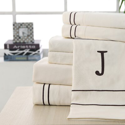 Victoria Classics Monogram Sheet Set