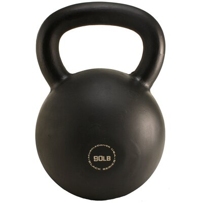 Muscle Driver USA 90 lb Black Series Kettlebell