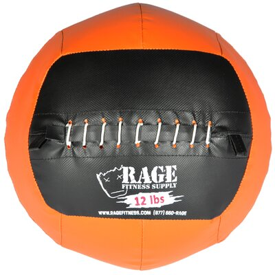 Muscle Driver USA 12 lb Rage Ball in Orange
